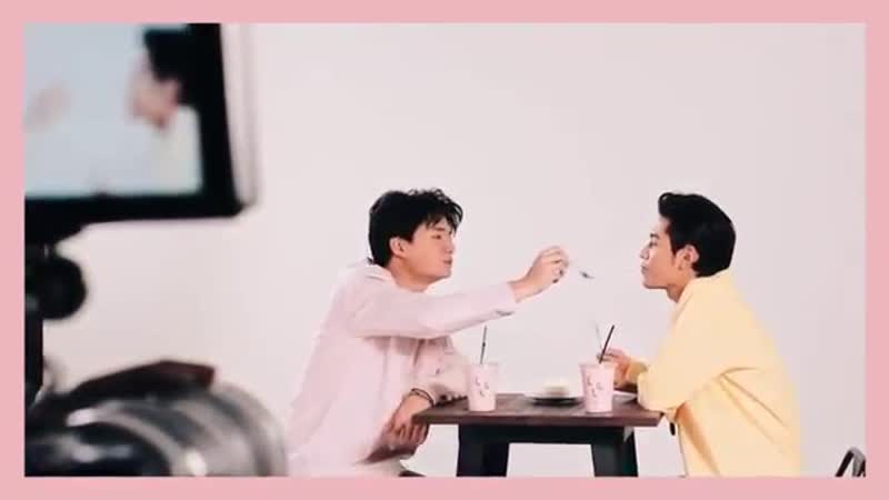 Y Perfume - Behind the scene ~ KristSingto cut