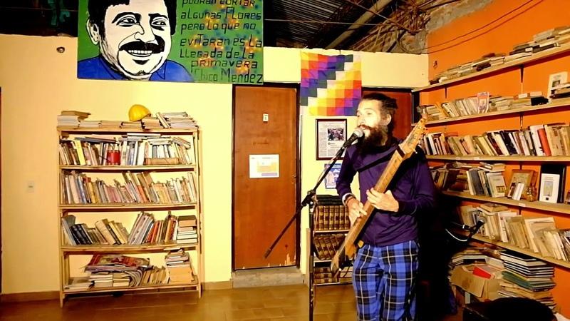 Zal el Juglar en la Biblioteca de Cultura Social - Señorita Nave (2017)