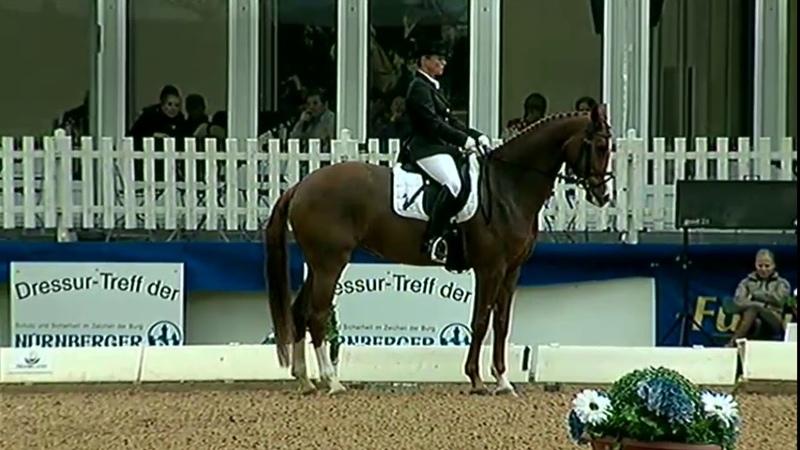 Pferd International 2010 Bella Rose en Isabell Werth