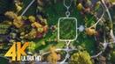 Botanical Park in 4K Ultra HD   Relax Video with Music - Arboretum Volčji Potok, Slovenia