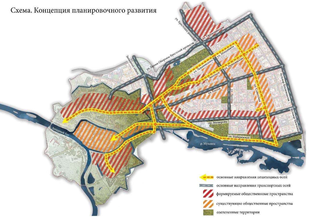 Объявлены общественные обсуждения плана исторической части г. Бреста  и Брестской крепости