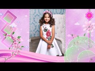 Пример (видеоклипа) 💝Поздравляем нашу 👼маленькую принцессу с 🐱Днем рождения!