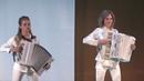 Самые красивые аккордеонистки Дуэт Ларго Полет Шмеля Концерт в Храме Христа Спасителя