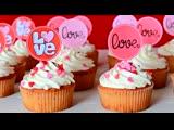 Клубничные Капкейки на День Влюблённых. Десерты на 14 Февраля Больше рецептов в группе Десертомания