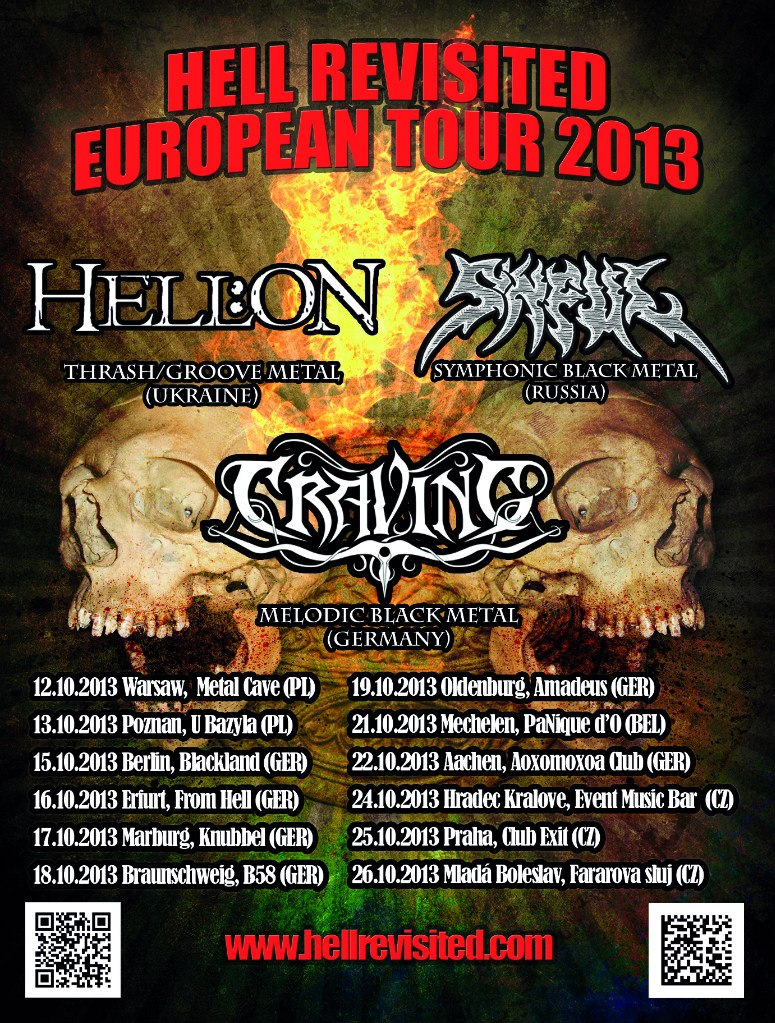 Froster org - Metal Forum > Hell Revisited European tour 2013