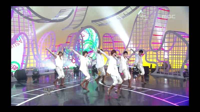 Choshinsung On Days ThatI Missed You 초신성 그리운 날에 Music Core 20100828
