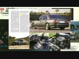 АМГ. Авто, прославившие тюнинг ателье. 300SEL.W124 Hammer.