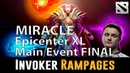 Liquid Miracle Rampage as Invoker Epicenter XL Main Event FINAL