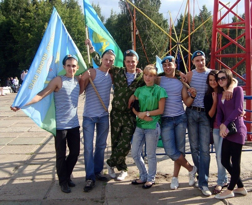 День ВДВ Киров 2014 фото