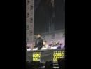 Джеи с остальным кастом выходят на сцену во время Комик-Кона | SDCC 2018