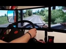 Playing in ETS 2 - Beyond the Baltic Sea on Gamescom 2018