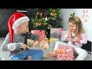 Новый Год 2019 | Подарки от Дед Мороза | Домашние кролики | Видео для детей | Учим англий