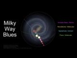 Астроном превратил звук вращающейся галактики в космический джаз