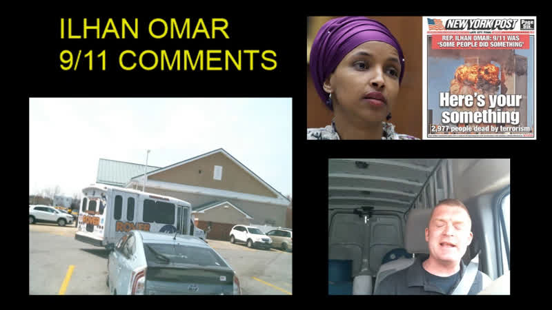 Rep ILHAN OMAR New York Post's front page calls out 9 11 comments 'Here's your something