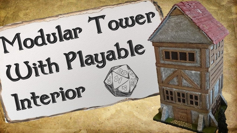 How To Make a Modular Tower With Playable Interiors for DD