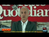 Travaglio distrugge Mattarella su veto Savona farsa, bugie, mezzucci grotteschi e arbitrari.