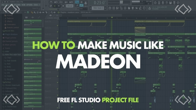 HOW TO MAKE MUSIC LIKE MADEON (Raise Your Weapon Remix)