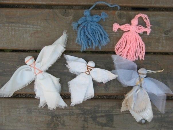 Пошив ангел своими руками