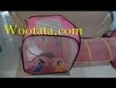 Tenda Anak Perempuan Bentuk Terowongan Motif
