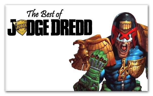 Лучшие истории о Судье Дредде