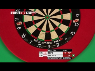England vs Austria (PDC World Cup of Darts 2017 / Quarter Final)