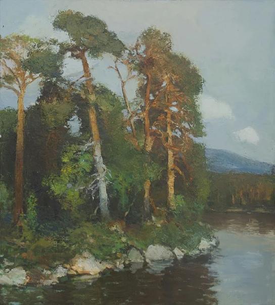 Данил Александрович Даниловский работает в жанре традиционной пейзажной живописи