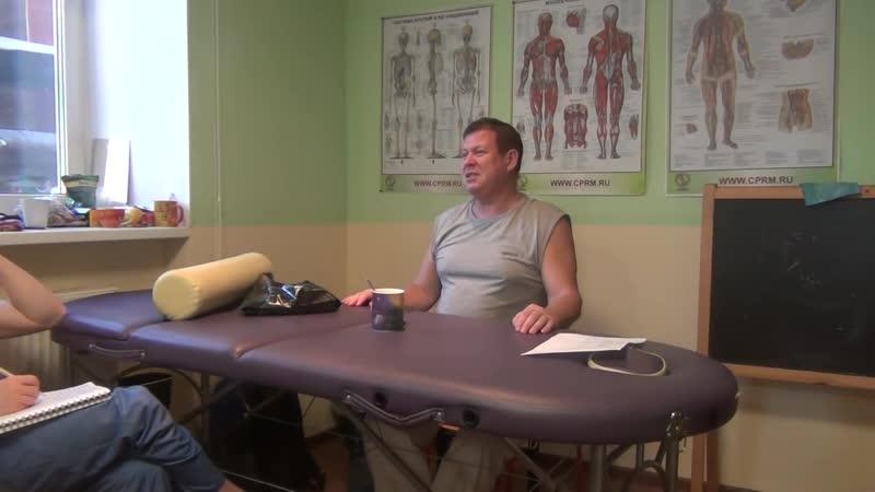 Работа с разными типами телосложения при антицеллюлитном массаже Яковлев