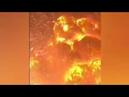 Взрыв в Китае виден был из космоса