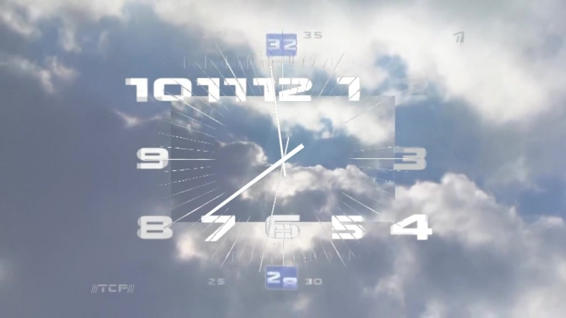 Часы в стиле первого канала. [ETG]