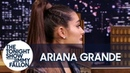 Ariana Grande's Epic God Is a Woman Madonna Cameo Came Together Over Text Jimmy Fallon