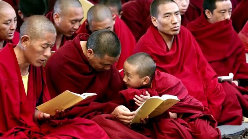 Мощнейшая мантра исцеления Поющие тибетские монахи