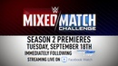 SB_Group| Don't miss WWE Mixed Match Challenge Season 2 - streaming LIVE starting Sept. 18