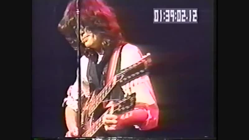 New York ARMS 12 9 83Jimmy Page