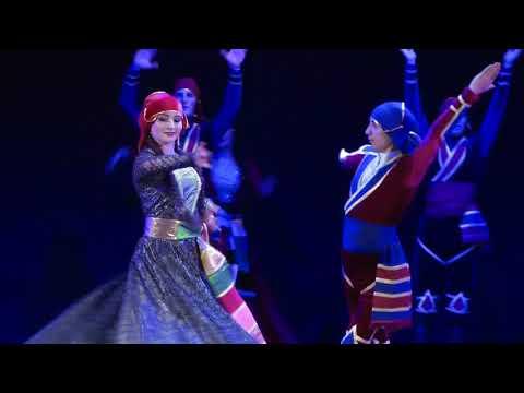 Аджарский танец Гандаган Ансамбль Сармат Худ рук Эдуард Гугкаев