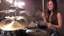 DROWNING POOL - BODIES - DRUM COVER BY MEYTAL COHEN
