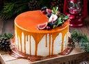 Морковный торт с грушевой прослойкой 🥕