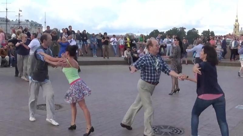 Самба Бальные танцы 05 08 2018 г на Стрелке В О вид 879