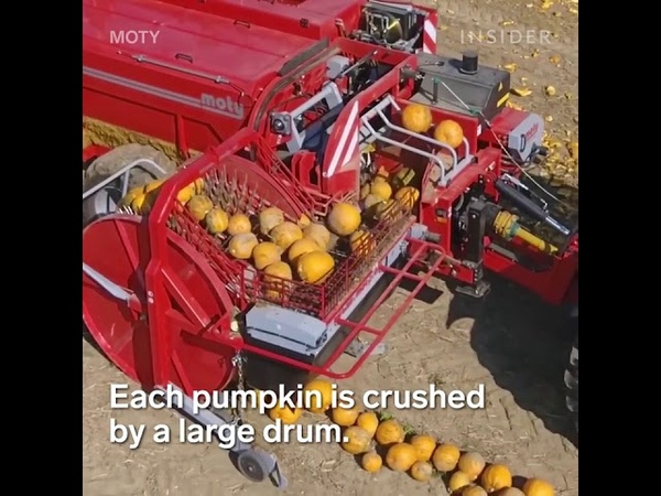 These 7 machines make it easy to harvest produce.