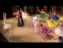 Театр РАМТ, на балете Спящая красавица, театр балета АРТ-ДА, поклон артистов