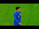 Контрольный матч. Россия - Бразилия 0:2 62 Филиппе Коутиньо (пенальти)
