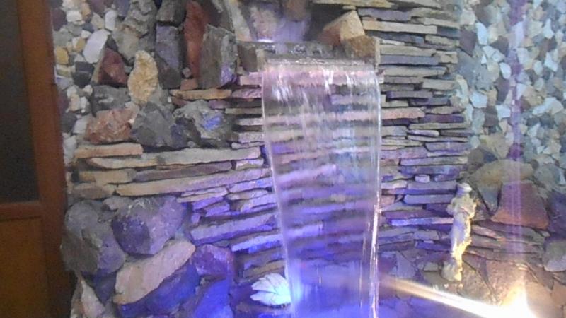 водопад в ресторане в г. ДУШАНБЕ ТАДЖИКИСТАН