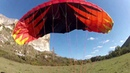 Kachi-Kalion speedflying (cliff launching a speed-wing)