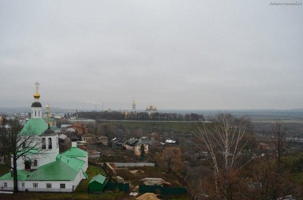 Вид на Успенский собор
