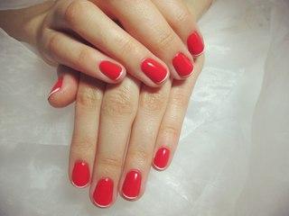 Маникюр шеллак 2 16 - фото красивых ногтей