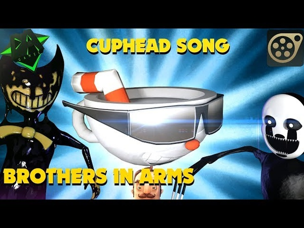 [SFM] Cuphead song - Brothers In Arms (DAGames) - Original music version
