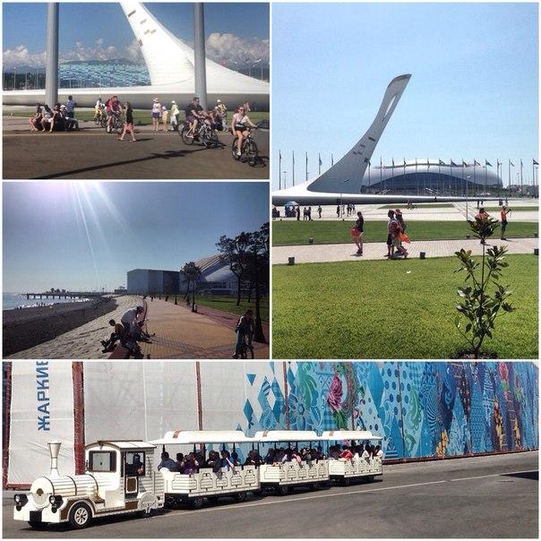 Ритм лета в олимпийском парке #Сочи2014