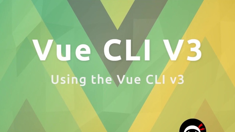 Vue CLI3 Tutorial 2 - Using the new CLI