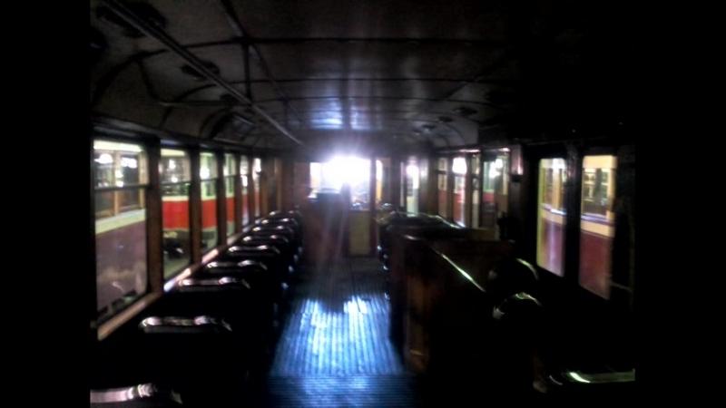 15 07 2018 загадочный трамвайный вагон, который я уже осматривал