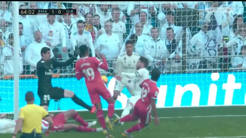 Реал Мадрид 1:2 Жирона | Испанская Ла Лига 2018/19 | 24-й тур | Обор матча
