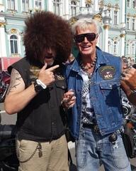 Александр Загорский и участники фестиваля «Spb Harley Days» поддерживают Хабиба в предстоящем бою против Конора Макгрегора
